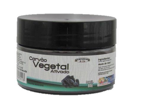 Carvão Vegetal em Pó - 80g