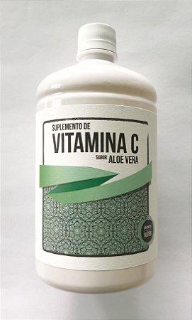 Suplemento de Vitamina C com Aloe Vera  - 1 LITRO
