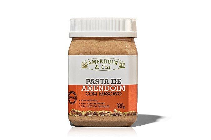 Pasta de Amendoim com Mascavo - 390g
