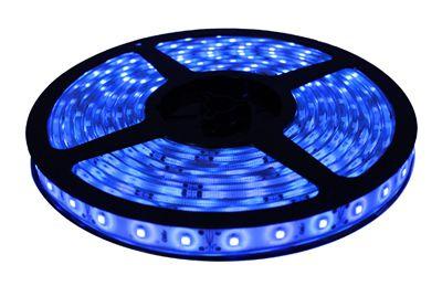 Fita Led 3528 Azul - 300 Leds + Fonte - Prova D´água