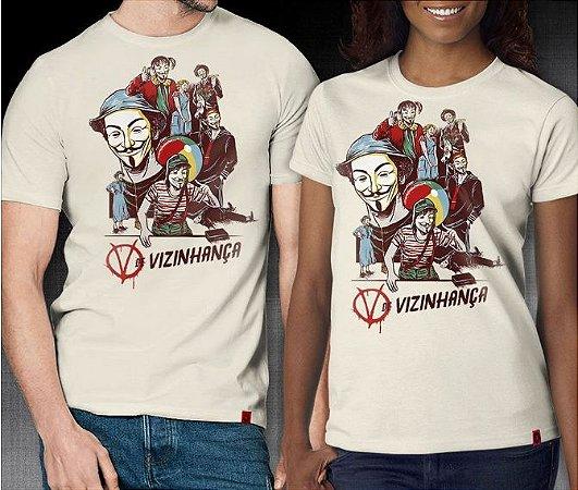 Camiseta V de Vizinhança - RedBug