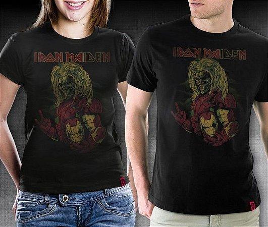 Camiseta Iron Maiden - RedBug