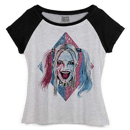 Camiseta Esquadrão Suicída Harley Quinn Puddin - BandUP!