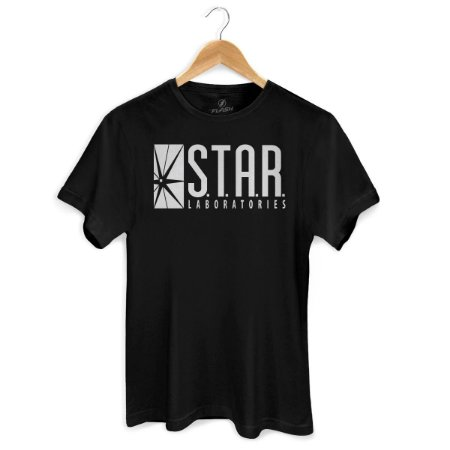 Camiseta The Flash Star Laboratories - BandUP!