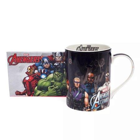 Caneca Marvel Vingadores - Zona Criativa