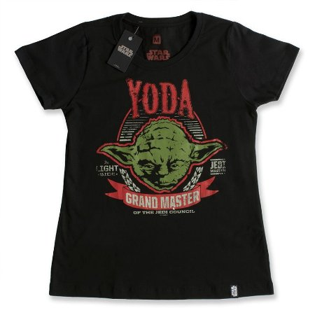 Camiseta Star Wars Yoda Grand Master (Feminina) - Studio Geek