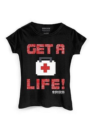 Camiseta Gamer BGS Get a Life - BandUP