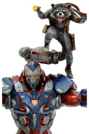 Iron Patriot & Rocket - Avengers: Endgame - 1/10 BDS Art Scale - Iron Studios