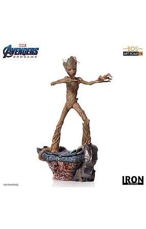 [Em Breve] Groot - Avengers: Endgame - 1/10 BDS Art Scale - Iron Studios