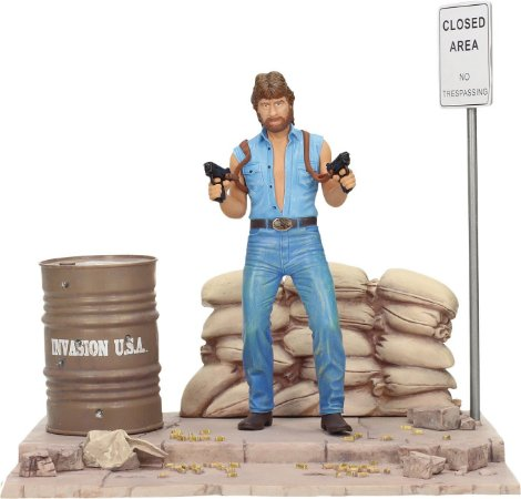 Matt Hunter (Chuck Norris) - Invasion U.S.A. - SD Toys