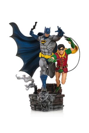 Batman & Robin - DC Comics by Ivan Reis - 1/10 Art Scale - Iron Studios
