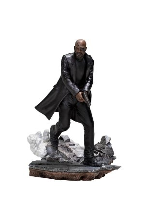 Nick Fury - Spider-Man: Far From Home - 1/10 BDS Art Scale - Iron Studios