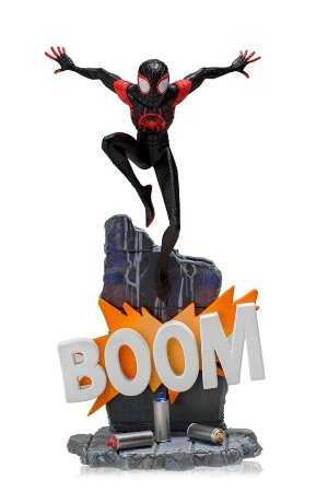 Miles Morales - Into the Spiderverse - 1/10 Deluxe Art Scale - Iron Studios