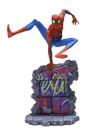 Peter Parker - Into the Spiderverse - 1/10 Deluxe Art Scale - Iron Studios