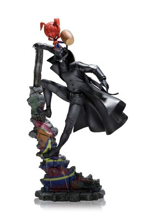 Spider Noir and Spider Pig - Into the Spiderverse - 1/10 Deluxe Art Scale - Iron Studios