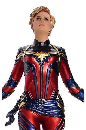 Captain Marvel - Avengers: Endgame - 1/10 BDS Art Scale - Iron Studios
