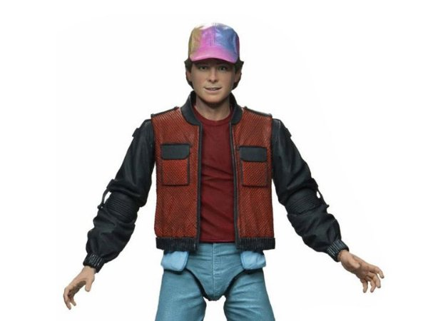 """Ultimate Marty Mcfly 7"""" - Back to the Future 2 - Neca"""