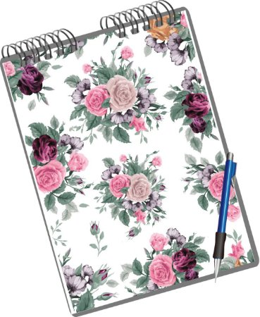 Miolo Digital Floral Roses