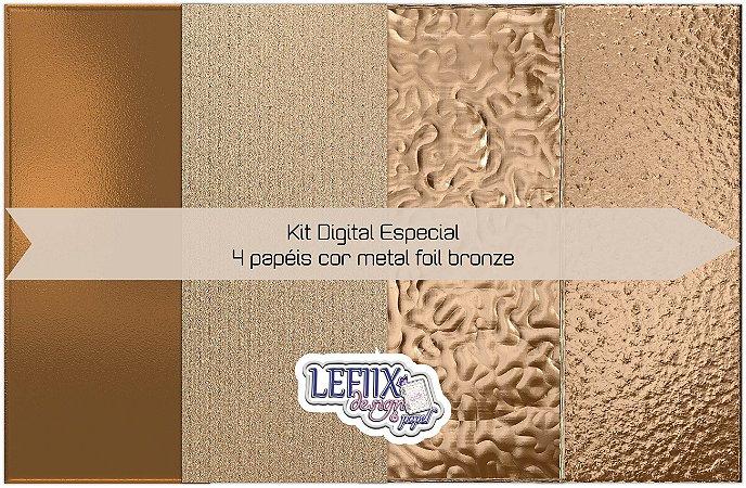 Kit Digital Especial Foil Bronze