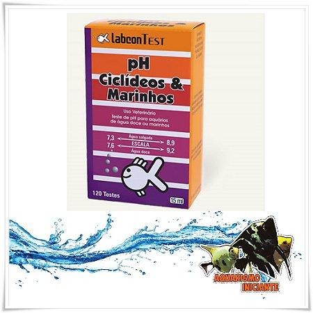 ALCON LABCONTEST PH CICLIDEOS E  MARINHOS 15ML