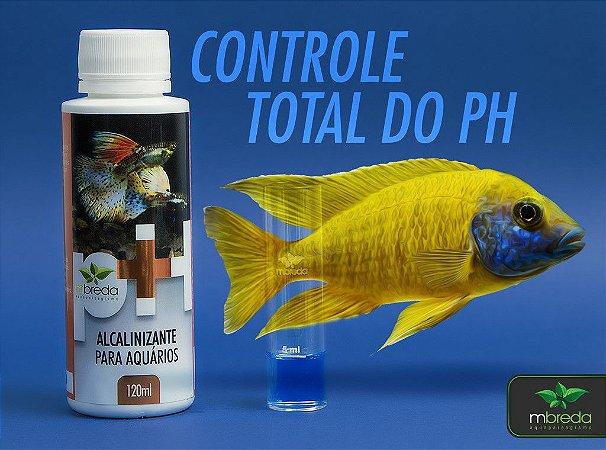 Alcalinizante para Aquários pH+ MBreda