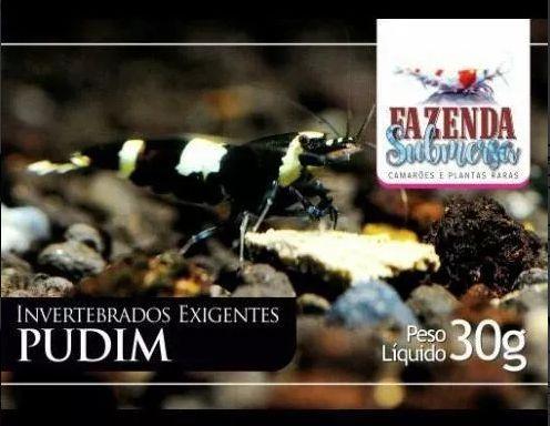 RAÇÃO PUDIM 30g - FAZENDA SUBMERSA