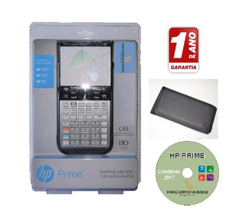 Calculadora Gráfica HP Prime G8X92AA - Kit Completo