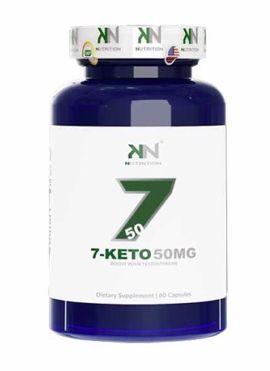 7Keto 50mg KN Nutrition - 60 cápsulas