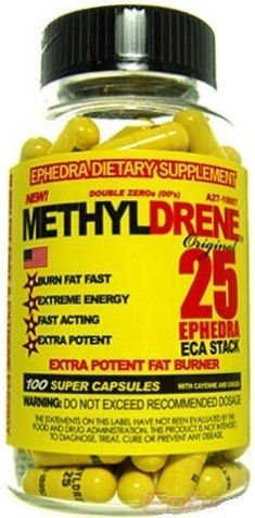 Methyldrene 25 Cloma Pharma - 100 Cápsulas