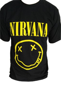 Camiseta Nirvana Smile - Memória Rock 97d983cc597