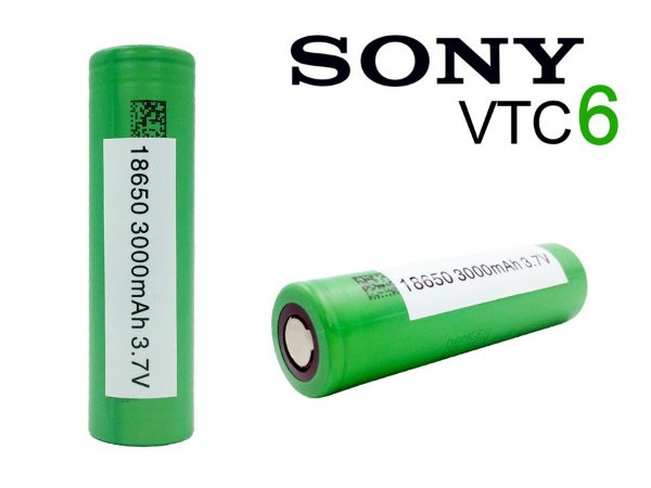 2 Baterias Sony VTC6 18650 3000mAh