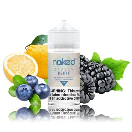 NAKED 100 CANDY - REALLY BERRY - 60ML