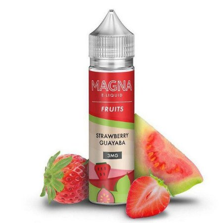 MAGNA E-LIQUID - STRAWBERRY GUAYABA - 60ML