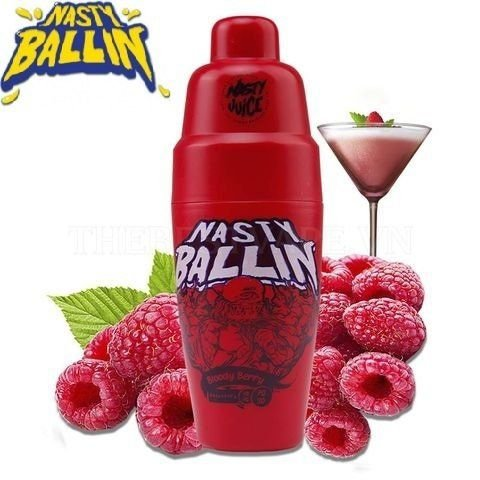 NASTY JUICES BALLIN - BLOODY BERRY - 60ML