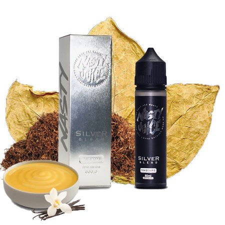 NASTY JUICES - TOBACCO SILVER BLEND - 60ML
