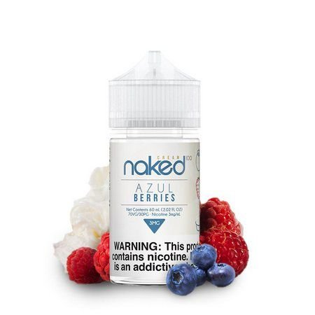 NAKED 100 CREAM - Azul Berries - 60ML