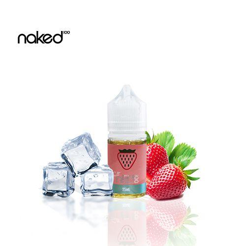 NAKED Basic Ice NicSalt - Strawberry - 30ML