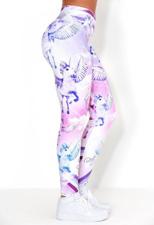 Calça Legging Unicorns Rock Code