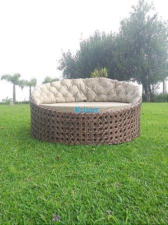 chaise orbital em fibra sintética