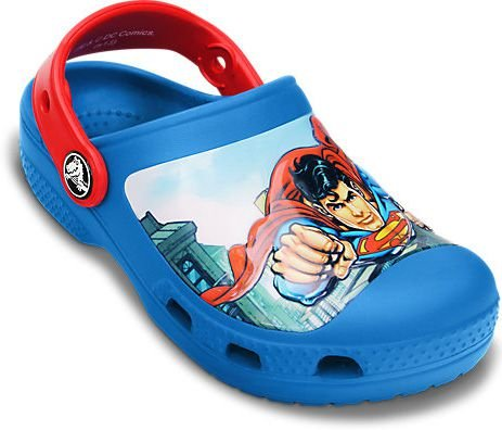 CALCADO SUPERMAN CLOG BOYS 14017 - SEA BLUE/RED