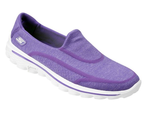 WOMENS GOWALK 2  SUPER SOCK - 13955 - PURPLE
