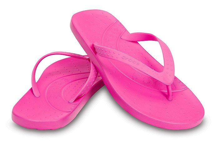 Sandália Crocs Chawaii Flip Kids - Party Pink - Infantil