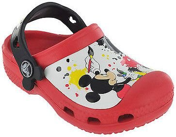 CALÇADO CROCS MICKEY MOUSE CLOG 15856 - RED