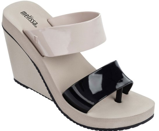 MELISSA SUMMER HIGH 31857 - PRETO/BEGE