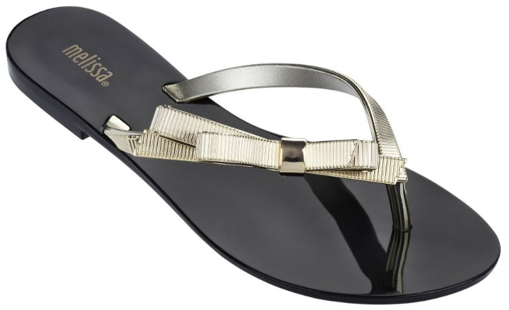 MELISSA HARMONIC CHROME 31959MP - PRETO/DOURADO