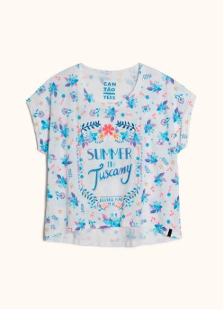 T-SHIRT SILK SUMMER 516434 - BRANCO