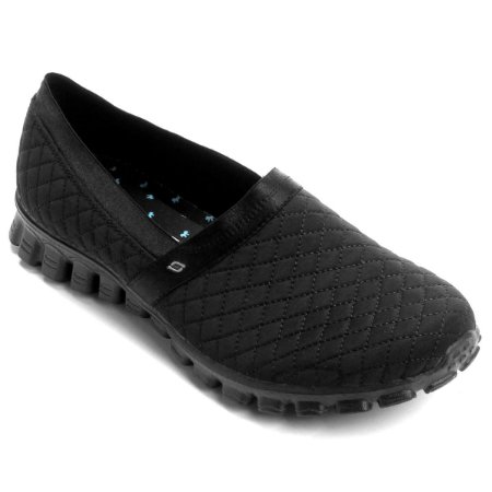 WOMENS SKECHERS EZ FLEX 2 BANKROLL 22665 - BLACK