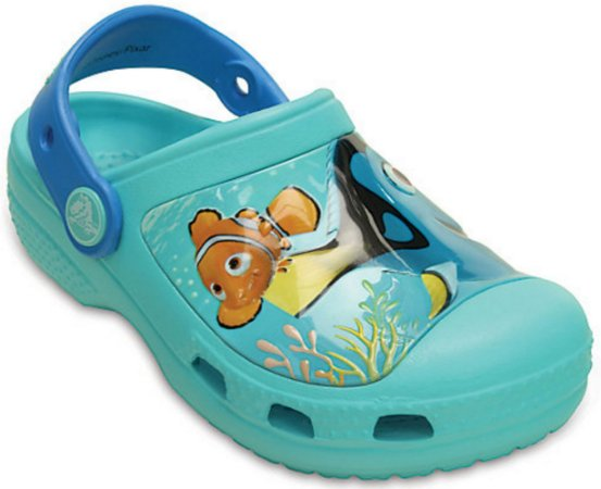 CALÇADO CROCS FINDING DORY CLOG 202683 - POOL BLUE