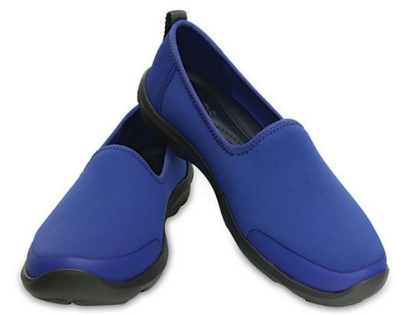 Sapatilha Crocs Busy Day Stretch Skimmer Cerulean Blue- Feminino