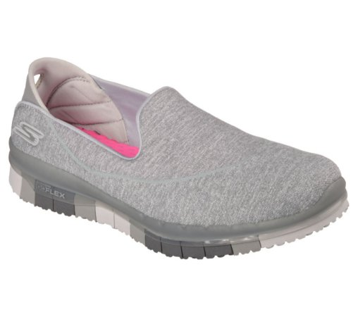 WOMENS SKECHERS GO FLEX 14010 - GRAY